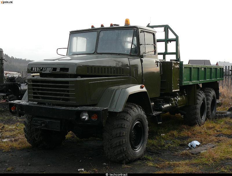 КрАЗ-260 с конверсии, резина, АКБ, оптика, ревизия с выбраковкой, ремонт, предпродажная подготовка.