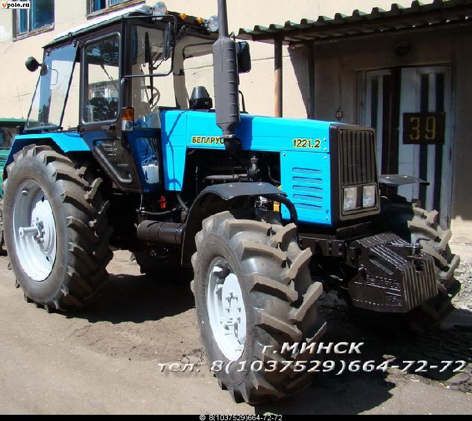 Трактор МТЗ-1221 Беларус - устройство и характеристики