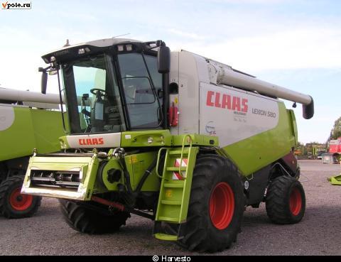 Claas Lexion 580 Руководство - фото 6