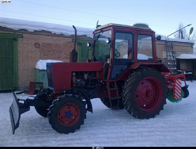 Навесное оборудование для трактора мтз 82: что и для чего
